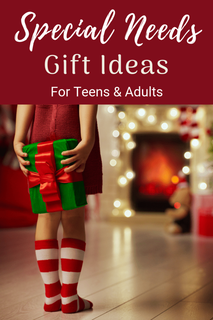 25 great gift ideas for teens and young adults with autism or other disabilities.