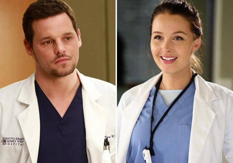 Greys Anatomy George And Alex Foto Di Greys Anatomy 9 Alex E Jo