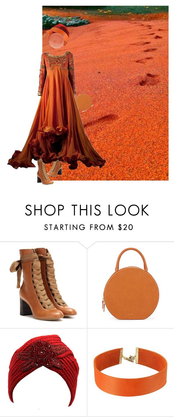 """Stroll along the beach....."" by diannecollier ❤ liked on Polyvore featuring Chloé, Mansur Gavriel, Vanessa Mooney and polyvorepolyvoreeditorial"