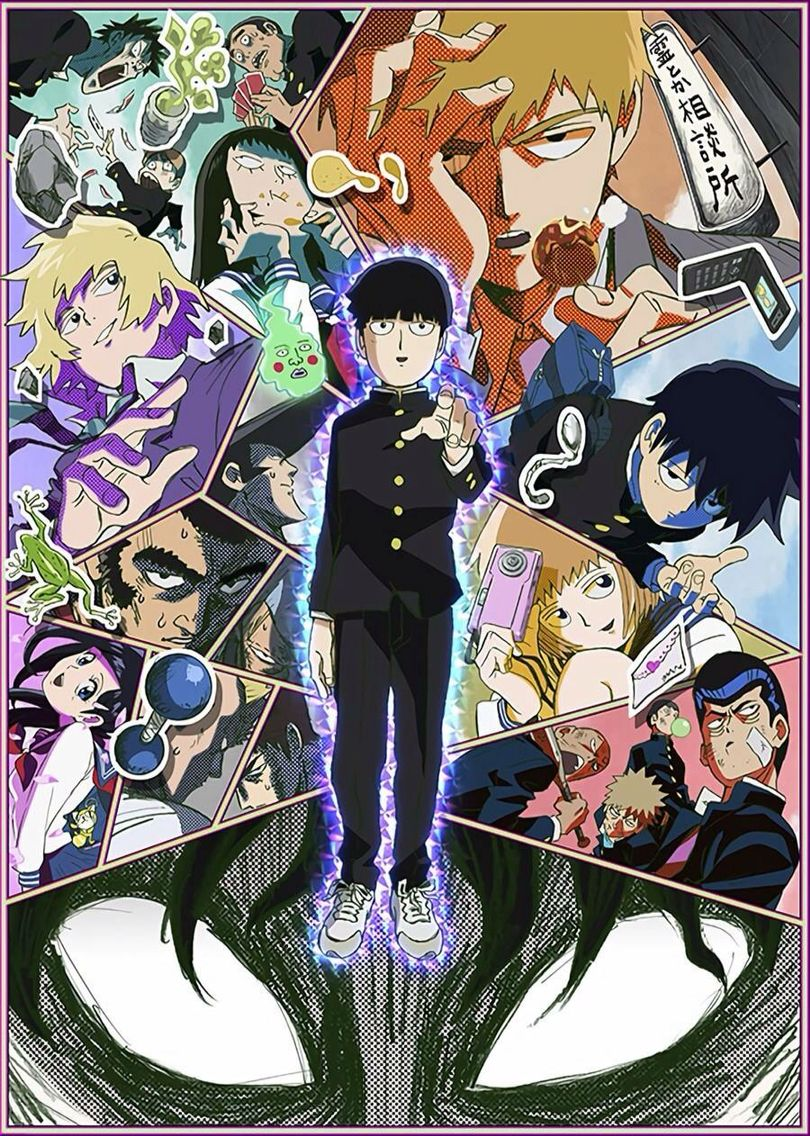 Mob Psycho 100 Plan to watch. Serie tv, Anime, In the