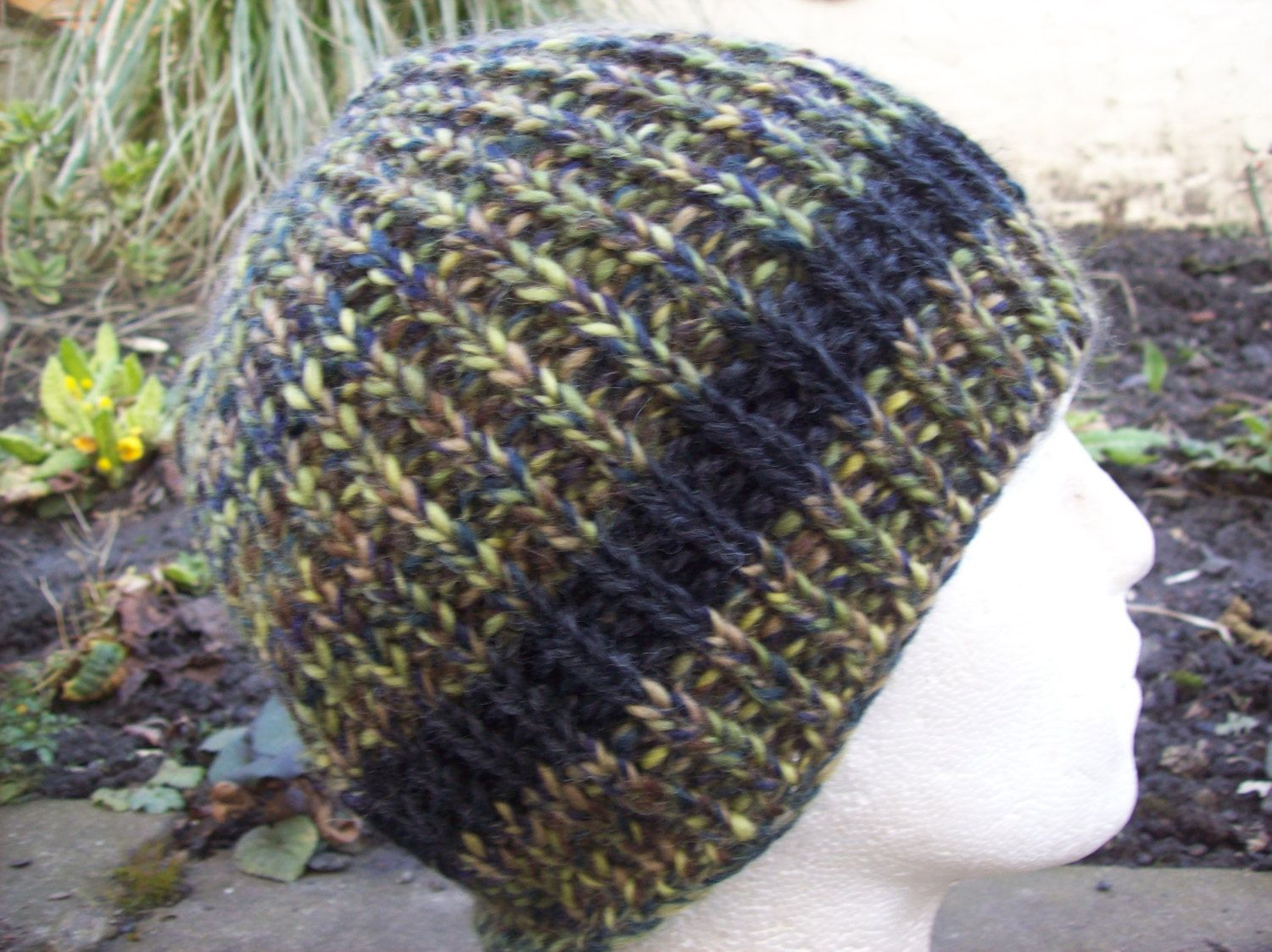 Sold hand knitted hat mens womens hat ski snowboard winter sold hand knitted hat mens womens hat ski snowboard winter super chunky fishermans rib bankloansurffo Image collections