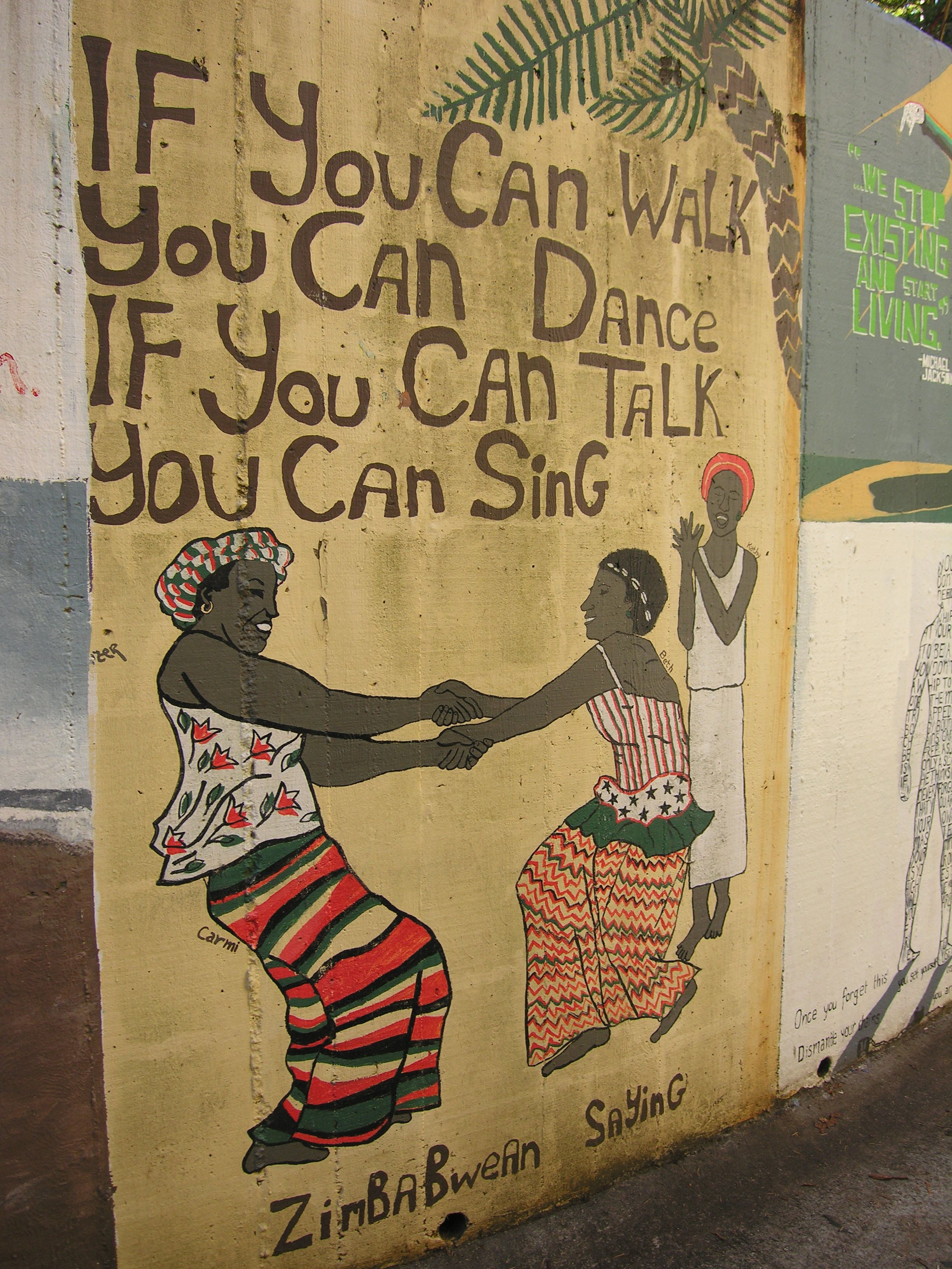 Quot If You Can Walk You Can Dance If You Can Talk You Can