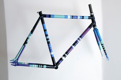 hand painted bike frames