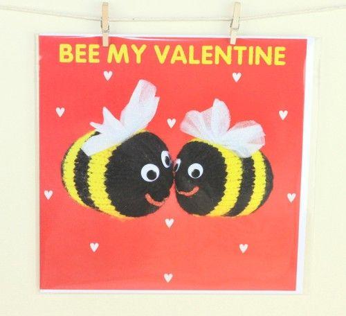 Bee My Valentine Card Ebay Uk Ebay Co Uk Happy Smile