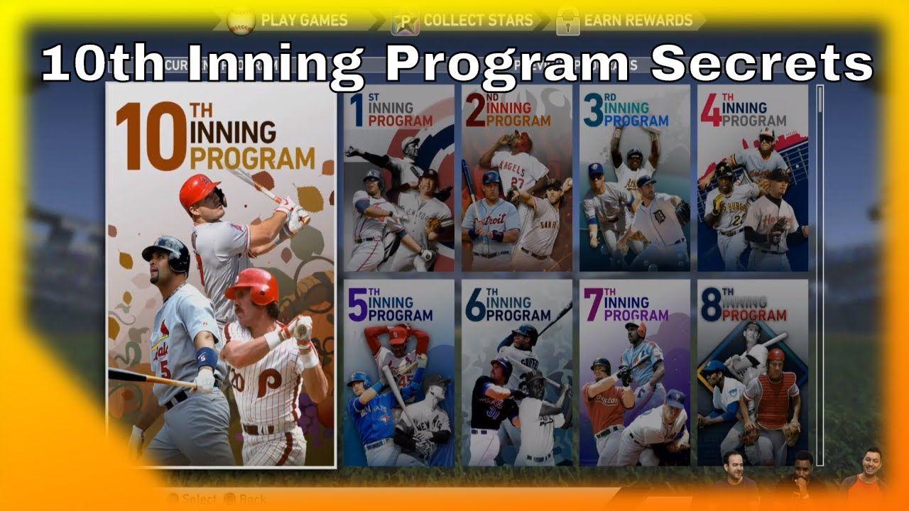 10th Inning Program Secrets Mlb The Show 19 Mlb The Show Mlb The Secret