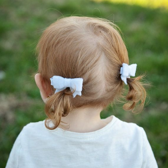 Pigtail Daisy Clip Set of Two