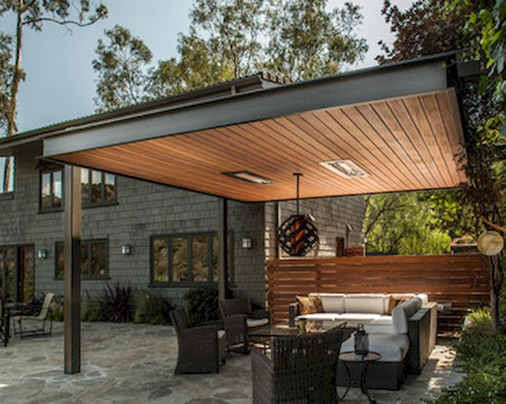 Adorable 50 Best and Cozy Contemporary Porch Patio for