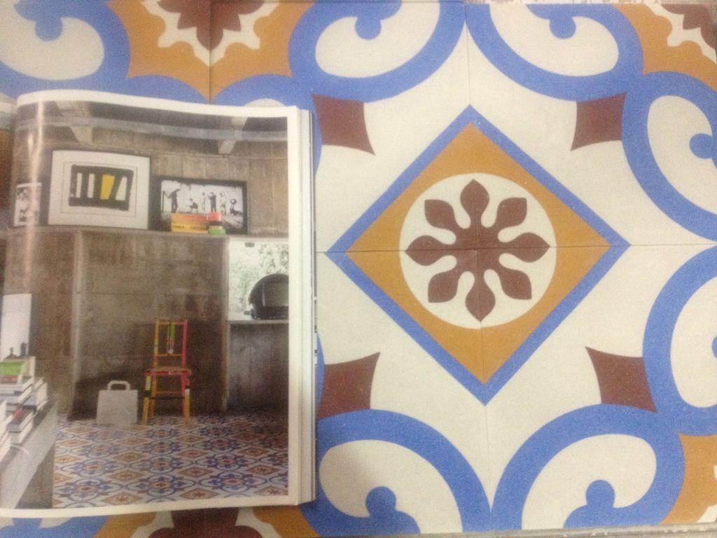 """Pastine di cemento - cement tiles """"Paulo Mendes Da Rocha"""" inspiration - www.grandinetti.it #cementtiles #cementine #flooring"""