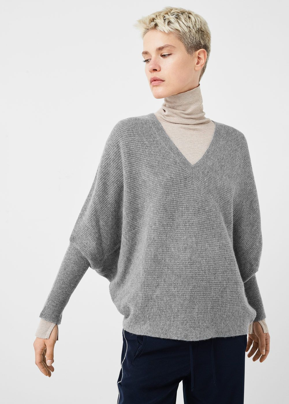 sneakers for cheap cc1fa f400a Pullover oversize 100 % cashmere - Donna in 2019 | Fashion ...