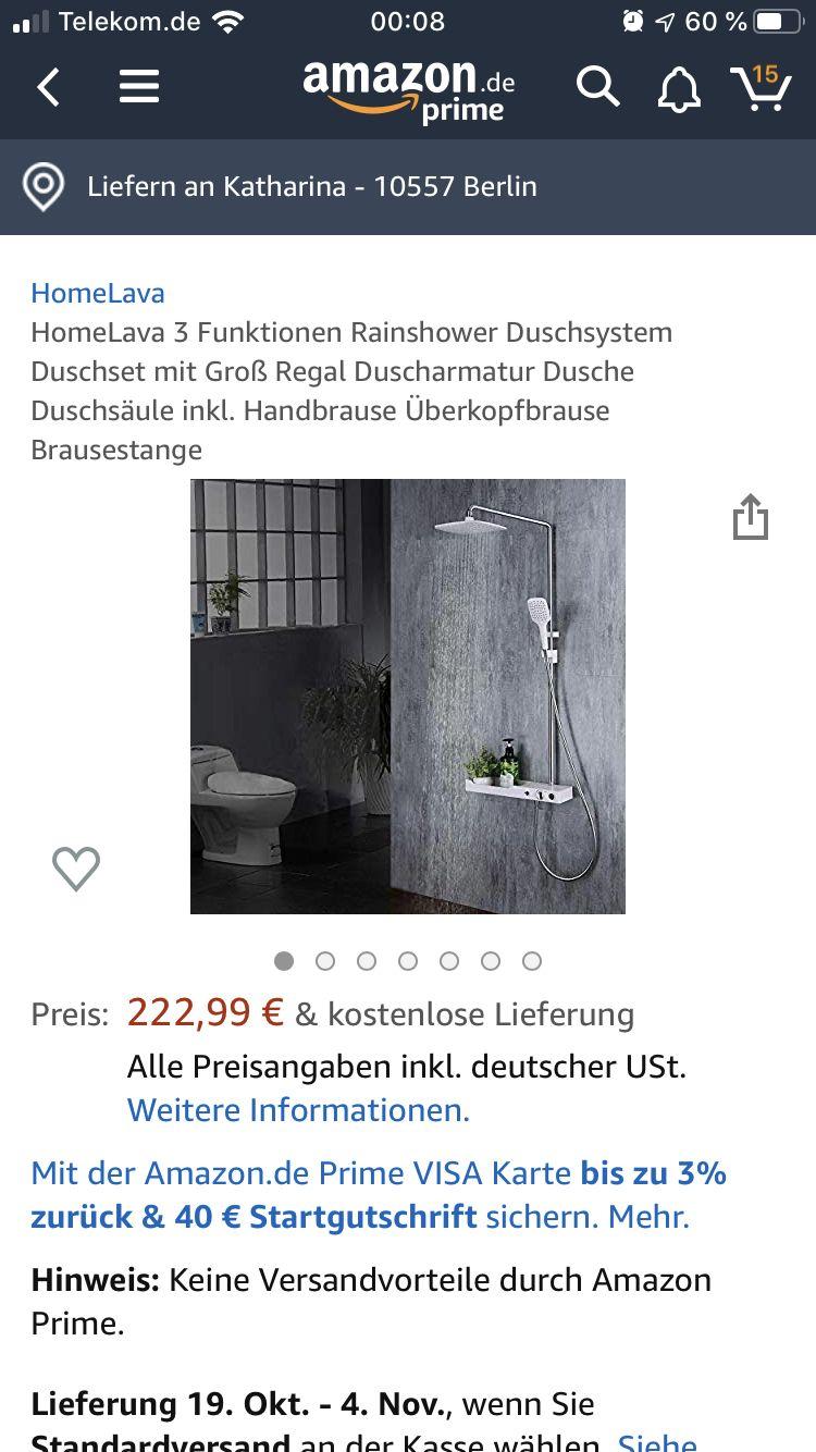 Pin Von Katharina Ploch Auf Einkaufstipps Duschsysteme Duschset Brausestange