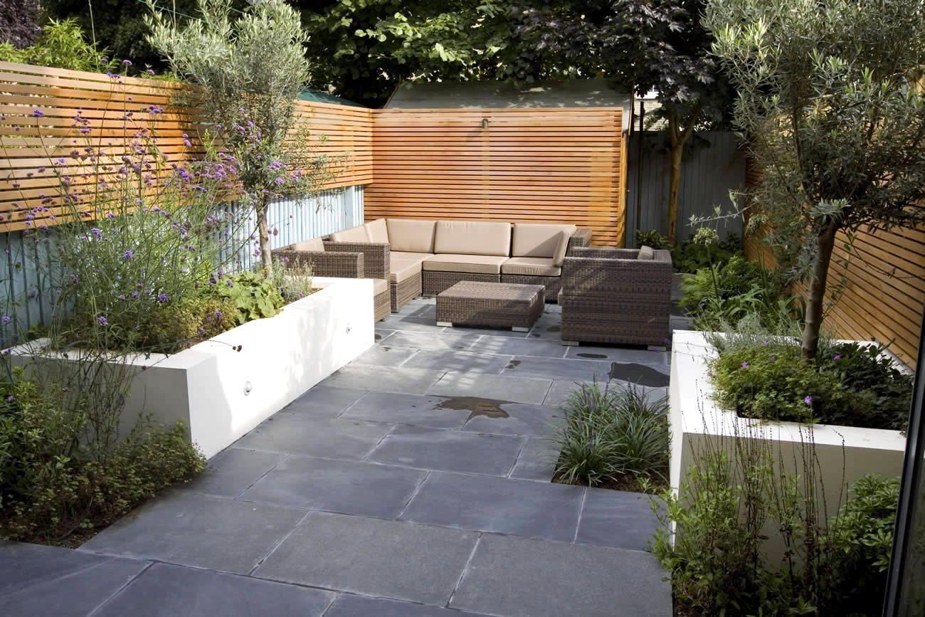 long narrow garden ideas uk - Google Search | Large ...