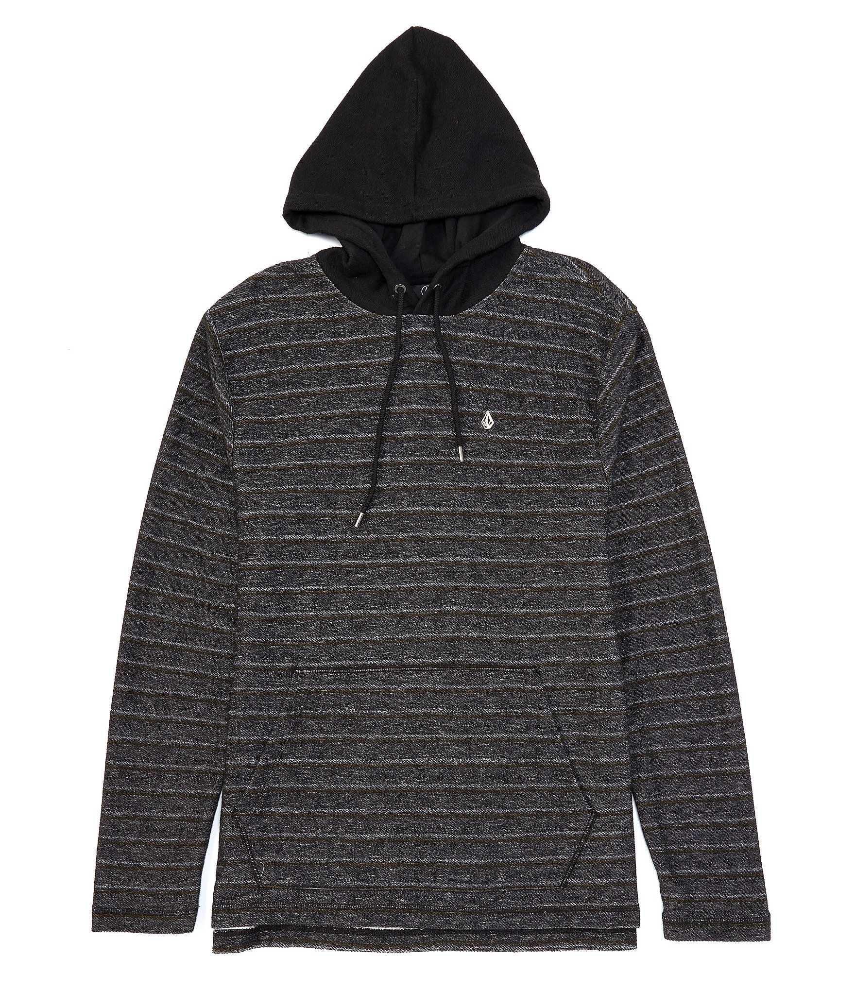 best authentic on feet at new arrival Volcom Chiller Long-Sleeve French Terry Hoodie - Black XL ...