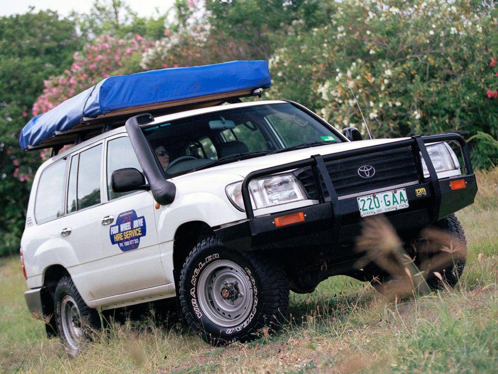 Toyota Land Cruiser 100 Standard Au Spec Hzj105 19982001 Cars 2001
