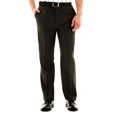 Claiborne® Slim-Fit Twill Flat-Front Pants  found at @JCPenney