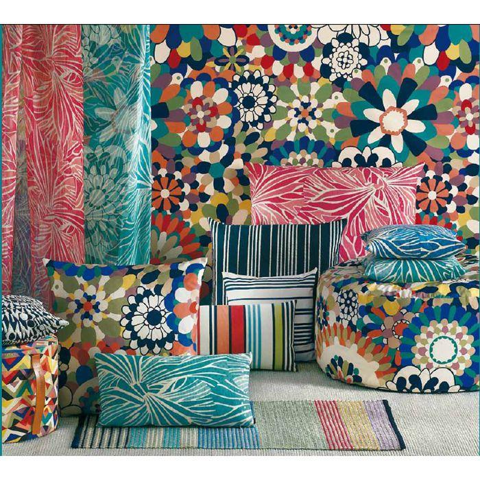 Missoni Home Furniture London: Surface-pattern-design-missoni-colourful