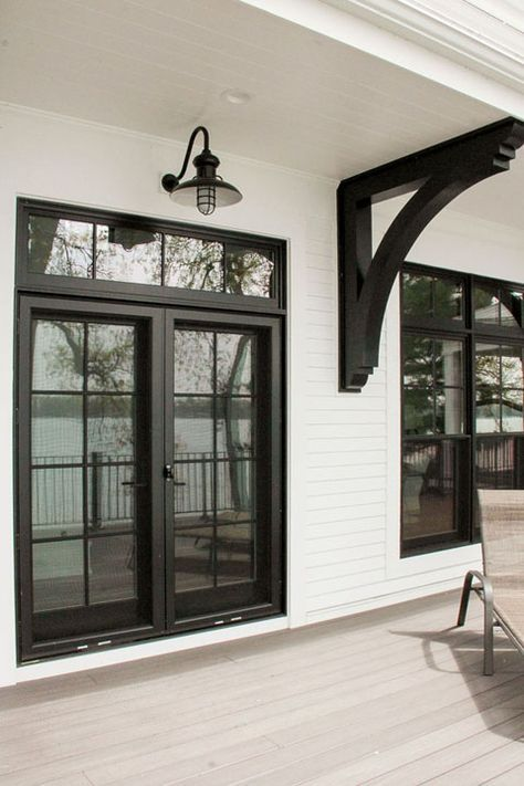 Marvin French Door In Ebony French Doors Patio French Doors Exterior House Exterior