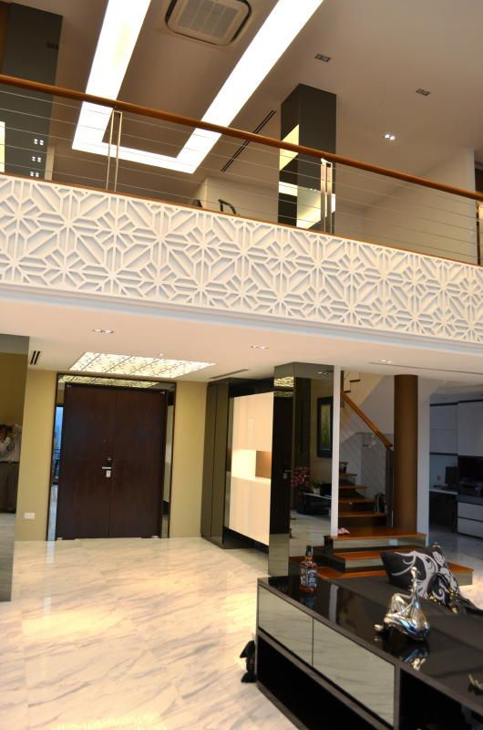 Double Height Feature Wall
