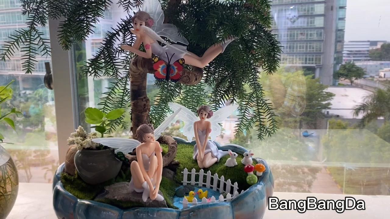 BangBangDa Fairy Garden Fairies Kit BangBangDa Fai