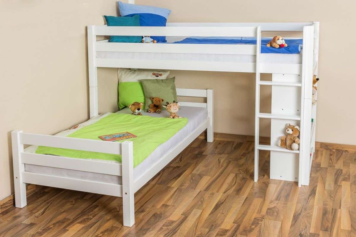 bunk beds | Bunk bed / Children's bed Phillip, solid beech wood ...