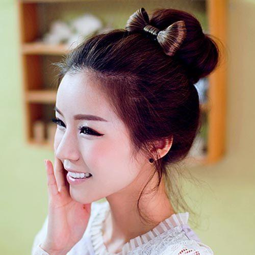 Cute Korean Bun Hairstyles Ideas For Girls Hair Styles Girl Hairstyles Long Hair Styles Men