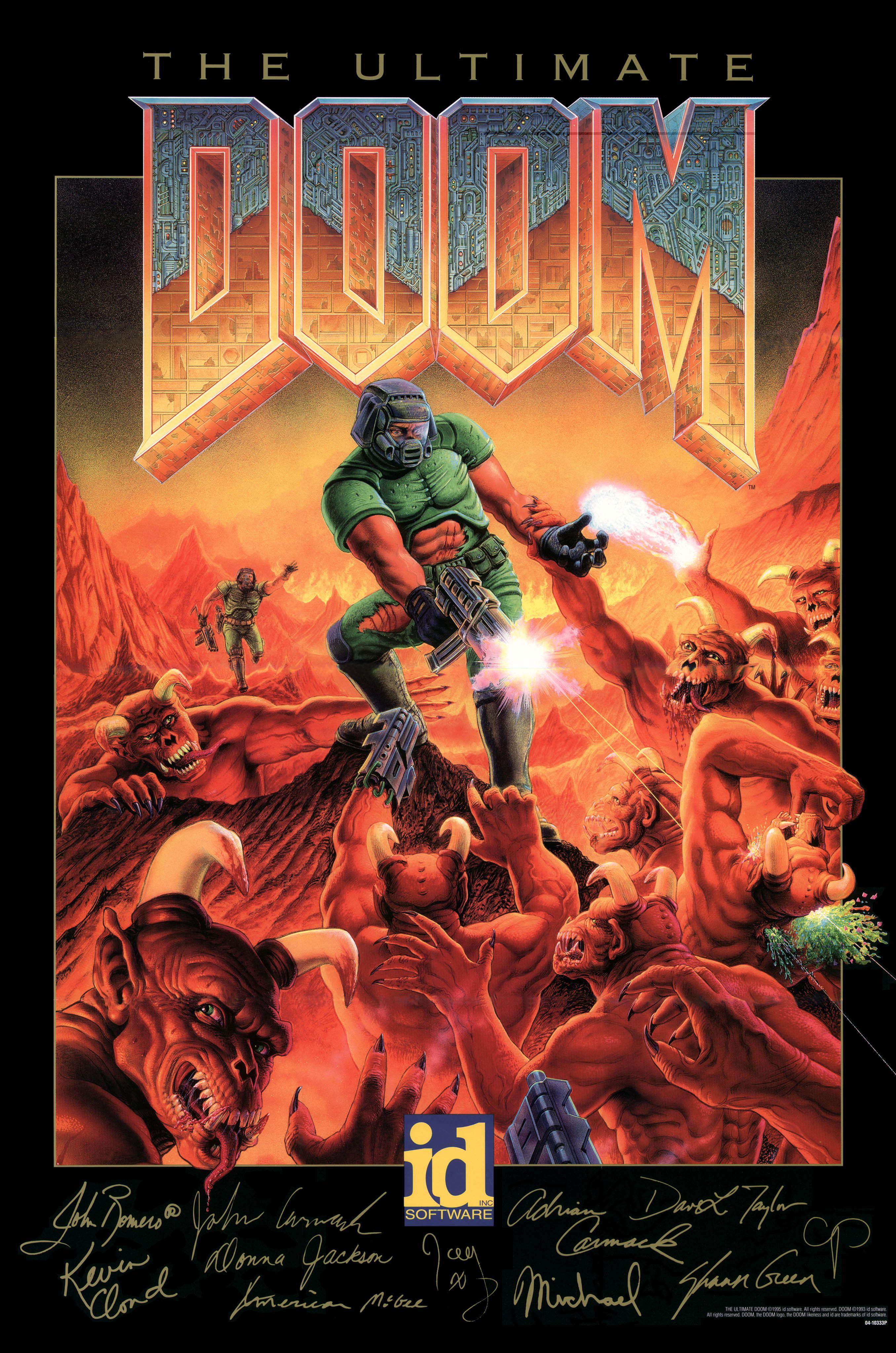ultimate doom poster free