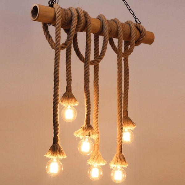 Touwlamp Chandelier No 1 Kroonluchter Verlichting Hanglamp