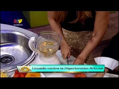 Medicina regenerativa: licuado contra hipertensión arterial - YouTube