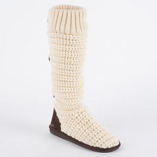 Muk Luks Jessica Horizontal Rib Sock Boot   Overstock.com