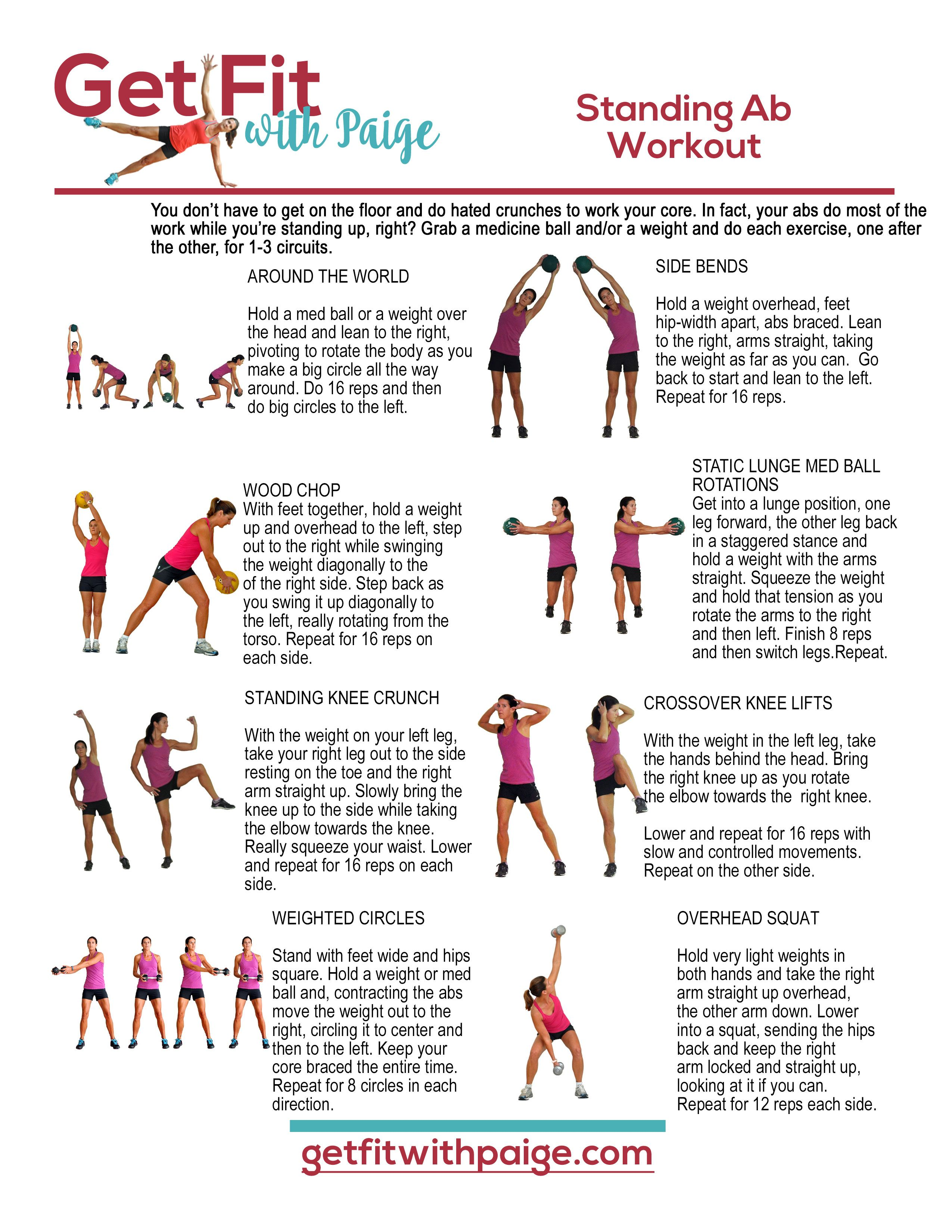 13+ Abdominal exercises standing up inspirations