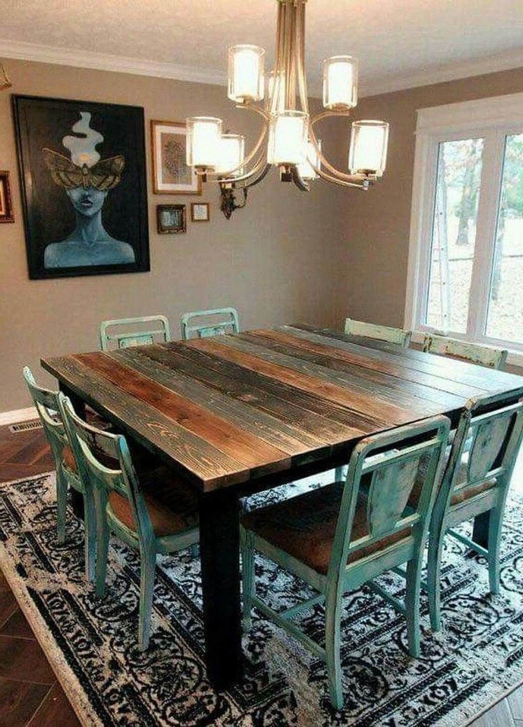 40 Lovely Western Style Kitchen Decorations Page 33 Of 42 Best Living Room In 2020 Living Room Decor Rustic Farmhouse Dining Room Table Western Living Rooms #western #themed #living #room