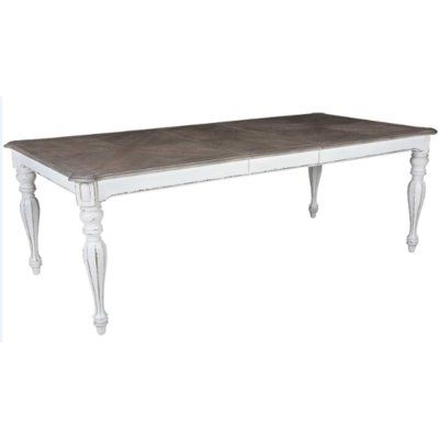 Lark Manor Tiphaine Extendable Dining Table Extendable Dining Table Dining Table Liberty Furniture