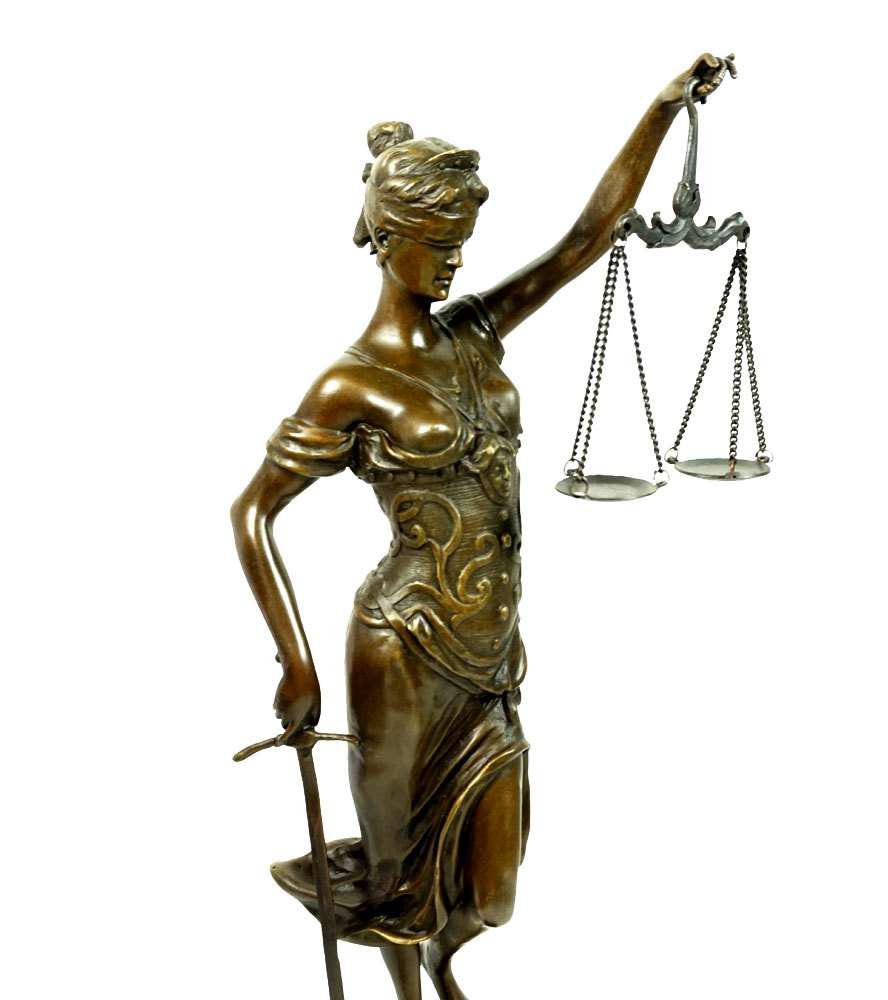 """Edle Skulptur /""""Der Denker/"""" Figur nach Auguste Rodin Eisen 26cm"""