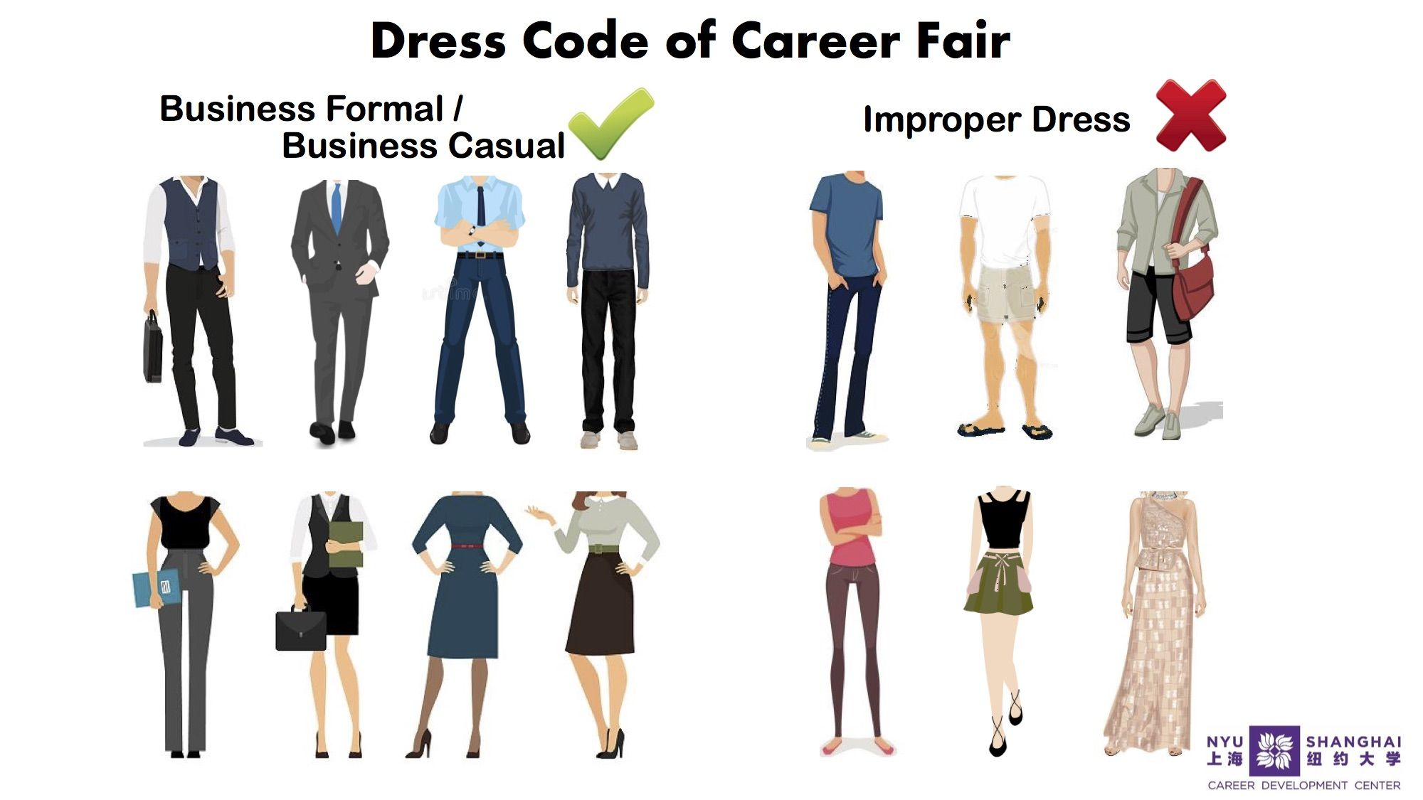 2019 SPRING JOINT CAREER FAIR Career Development Dress