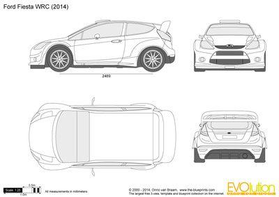 Ford Fiesta Wrc Desenhos De Carros Desenhos Desenho