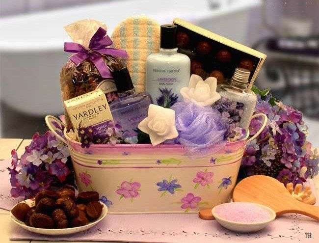 Gift Baskets For Women Anniversary Special Bath Luxury 11 Piece Set Aromatherapy Gift Basket Bath Gift Basket Spa Gifts