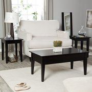 Turner Lift-Top Occasional Table Collection - Black