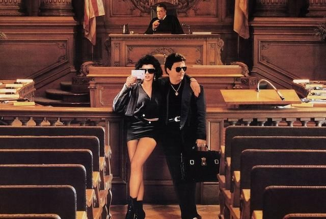 """Familiarize yourself with this classic comedy, in which a fish-out-of-water lawyer defends two """"youtes"""" wrongfully charged with murder.  29 Fun Facts About 'My Cousin Vinny'   Mental Floss"""