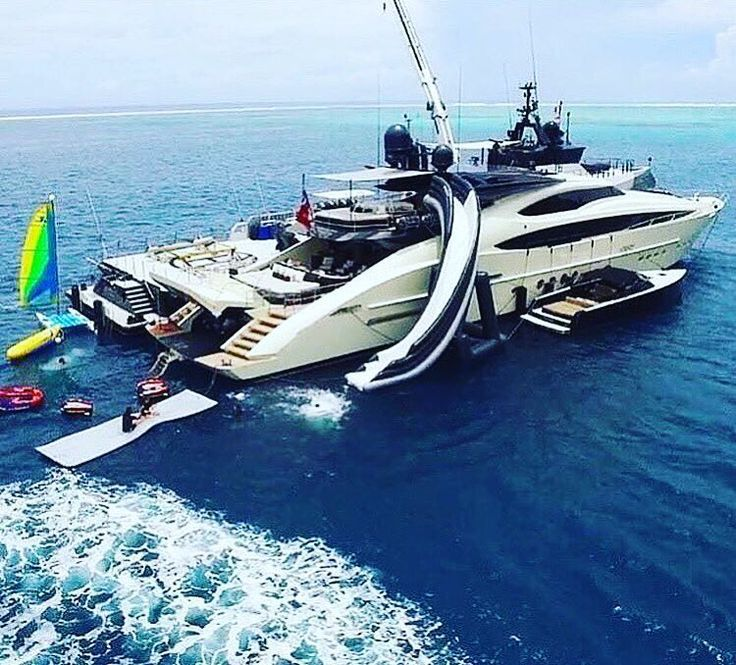 Huge Palmer Johnson #superyacht. We Are Using This As Our #PhotoOfTheDay  Steal.