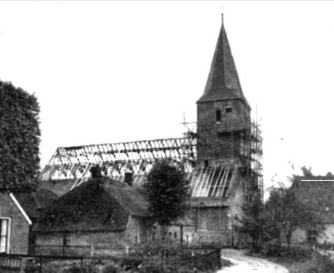 Garage Boer Diever : Restauratie kerk diever diever deever vrogger en nou