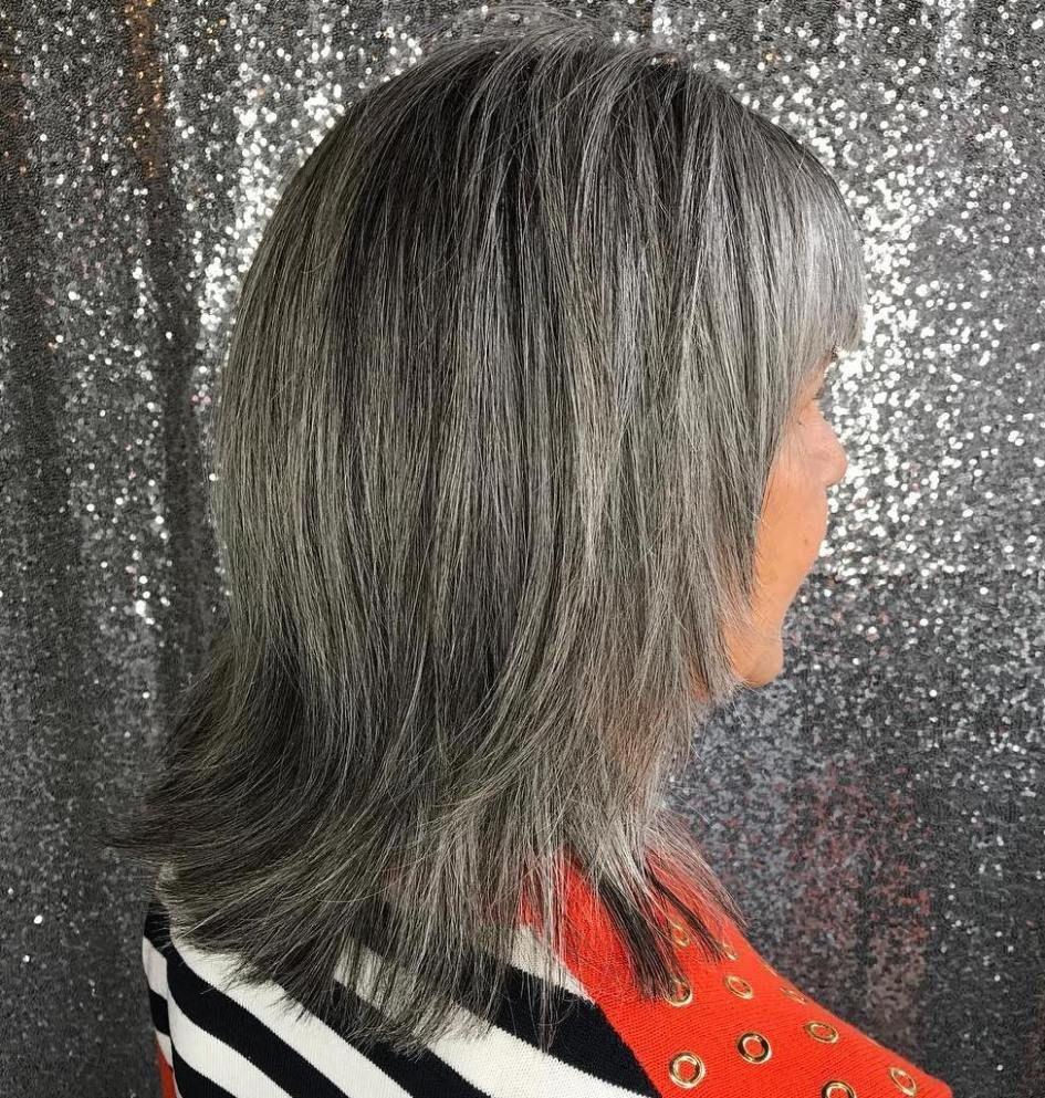 50 gray hair styles trending in 2020  gray hair growing