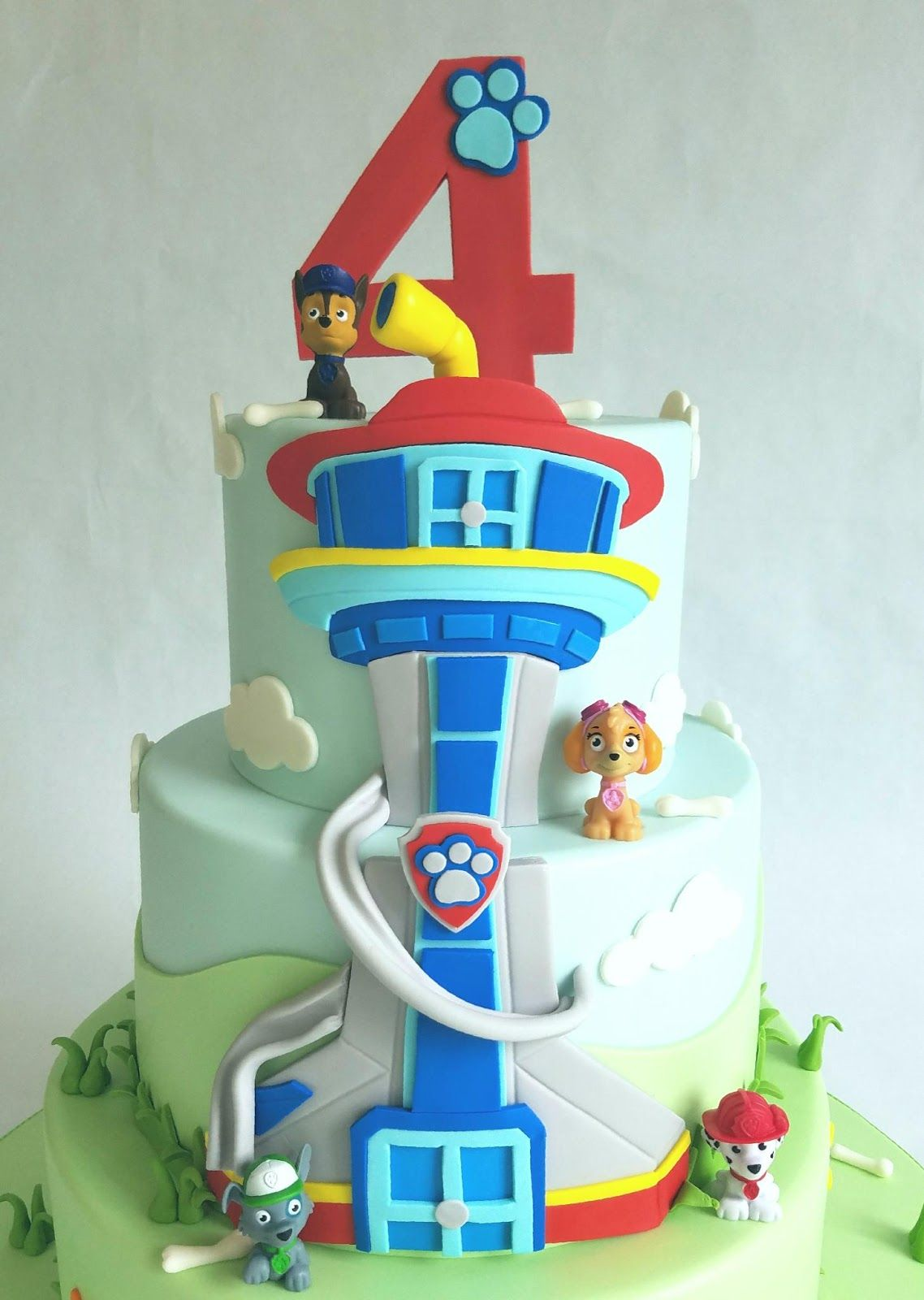 Paw Patrol Party With Images Paw Patrol Party Cake Paw Patrol