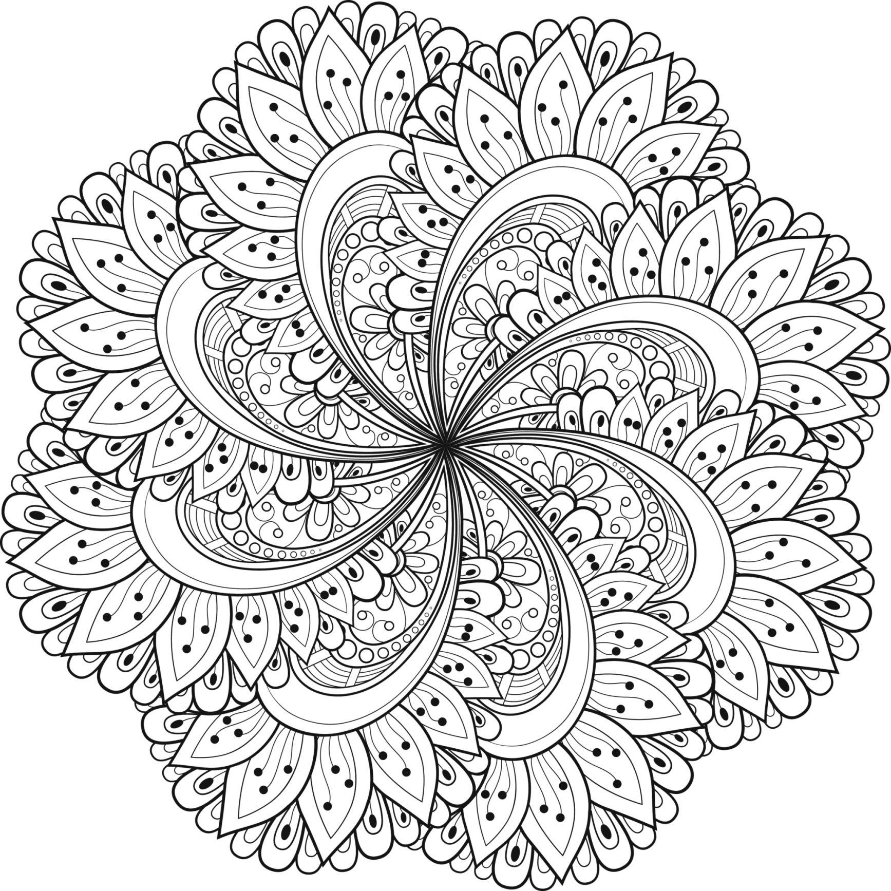 Mandalas | COLORING PAGES | Mandala coloring, Mandala coloring