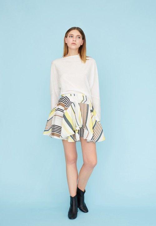 Skirt Pattern Dp Studio Patterns Jupe Courte Jupe A Godet Jupe