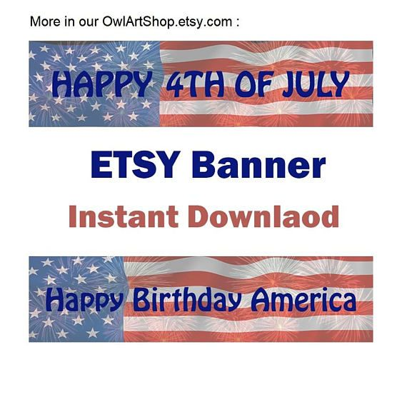 Etsy Banner Labor Day Sale Happy Labor Day Shop Banner Special Ts