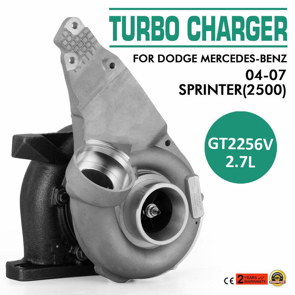 For 04 06 Dodge Sprinter 2 7l Diesel Engine Gt2256v 736088 Turbo Charger Turbo Sprinter Diesel Engine