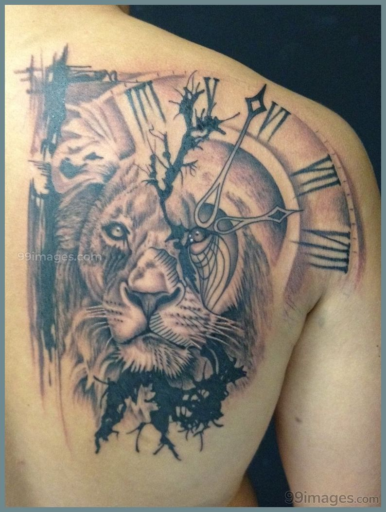 Creative Lion Tattoos Hd Images 11556 Liontattoos Tattoos Watch Tattoos Mens Lion Tattoo Tattoos