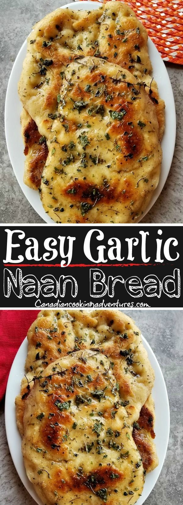 This quot;Easy Garlic Naan Bread Recipe quot; will have you eating the best Indian food at home in