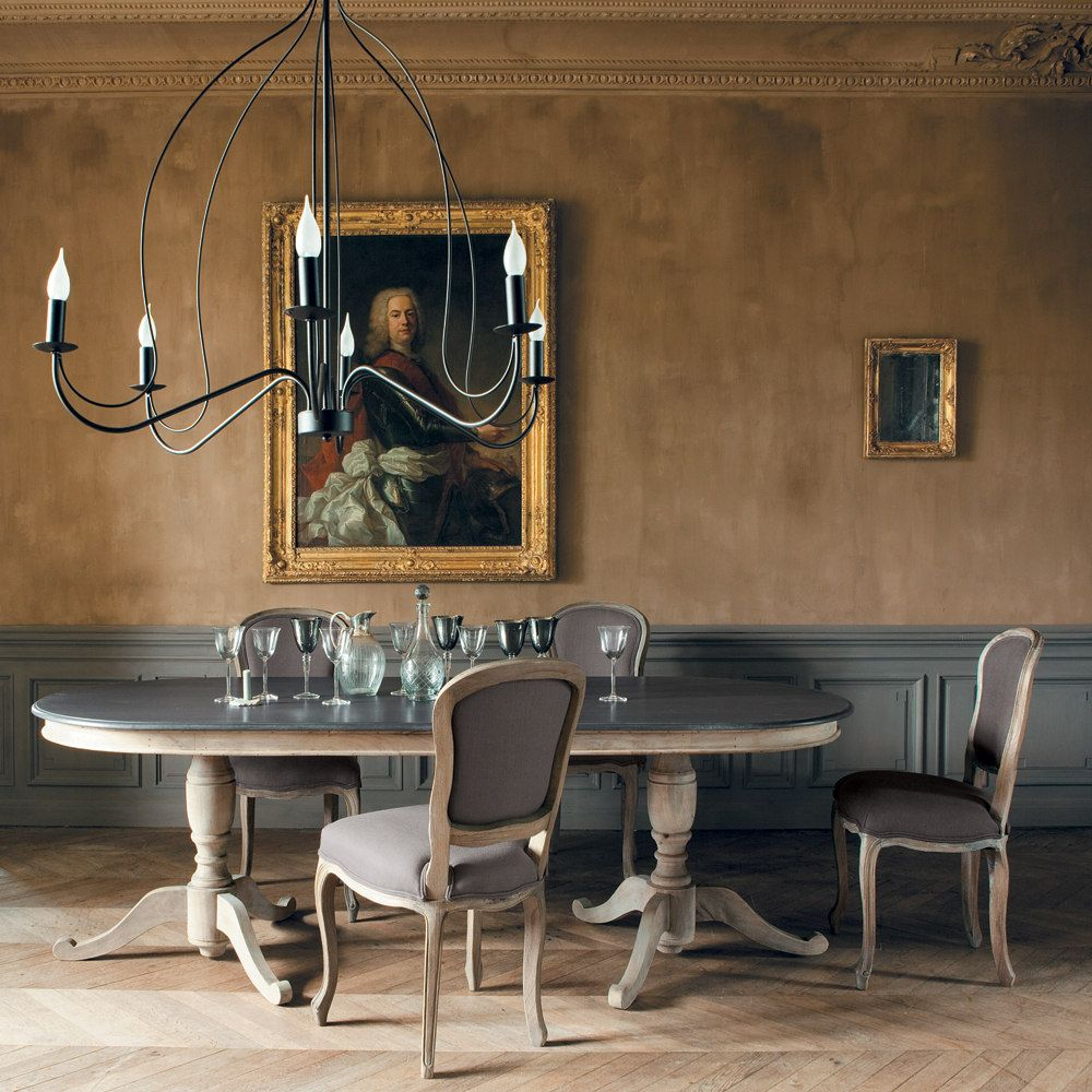salle a manger table ovale