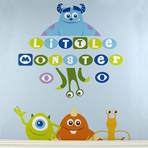 Disney Baby Monsters Inc Wall Decals Review Kids Wall Decor