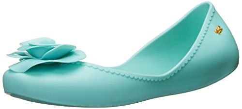 Zaxy Womens Start Iv Ballet Flat Green 8 M US ** Click on the image for additional details.